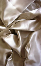 4 pcs 100% silk charmeuse sheet set Queen champagne fitted flat pillowcases