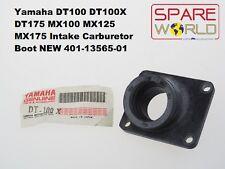 Yamaha DT100 DT175 MX100 MX125 MX175 Intake Carburetor Boot NEW 401-13565-01