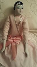 "NEW Silvestri Dollcrafters Classics 18""Couture Flapper Porcelain Doll"