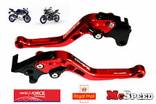 YAMAHA YZF R125 MT-125 2014-2016 Short Adjustable Brake & Clutch CNC Levers Red