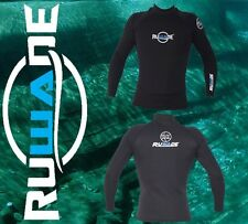 RUWADE brand 1.5mm long sleeve neoprene wetsuit top jackets,thinner than 2mm 3mm
