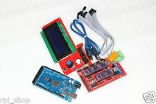 3D printer electronics kit:Mega 2560 + Ramps 1.4 + DRV8825 +2004 LCD controller