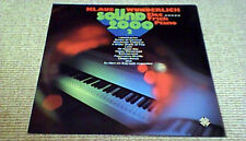 KLAUS WUNDERLICH SOUND 2000 2 1st GER LP 1973 ELECTRIC PIANO FUNK LISTEN