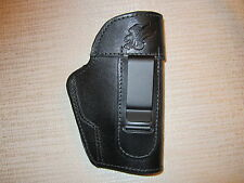 leather ambidextrous holster, Fits Ruger SR9C & SR40C,Taurus 709 Slim, Kahr cw45