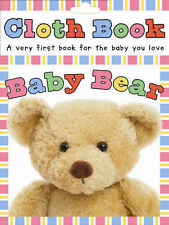 NEW - BABY BEAR - PHOTOGRAPHIC  cloth book