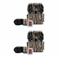 Stealth Cam ZX36NG 10MP No Glo Infrared Game Trail Camera Kit +SD Card (2 Pack)