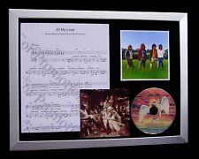 LED ZEPPELIN All My Love TOP QUALITY MUSIC CD FRAMED DISPLAY+EXPRESS GLOBAL SHIP
