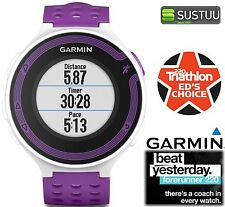 Garmin Forerunner 220 Colour Display White/Violet GPS Sports Speed Running Watch