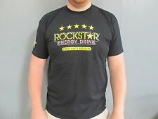 Rockstar Energy Mens Casual motocross/bmx/skate t-shirt X/Large black ROC005