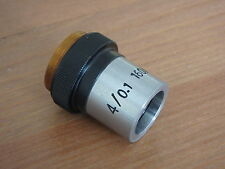 Unused DIN Microscope objective 4x/0.1 160/0.17  excellent - version B