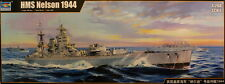Trumpeter #3708 - 1/200 scale Royal Navy HMS Nelson (1944) Battleship kit - NEW!