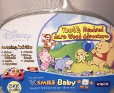 New V Smile Baby Disney Pooh's 100 Acre Wood Adventure Game, 9-36 mo, V Tech