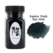 """Organics Studio Fountain Pen Ink, 55ml, Ernest's Vintage Writing Blue/Black"""