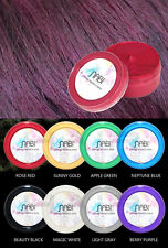 Nabi Temporary Hair Color Gel Wax Mud Washable 75g Unisex Long Short Rose Red