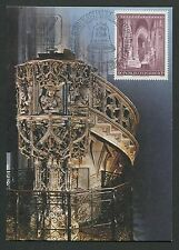 AUSTRIA MK 1977 STEPHANSDOM WIEN MAXIMUMKARTE CARTE MAXIMUM CARD MC CM d5117