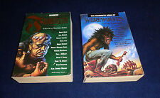 The Mammoth Book of Frankenstein and Werewolves lot of 2