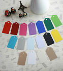 Large Scallop Tags 20pcs recycled card unstrung label wedding craft gift tags