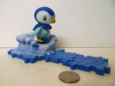 Pokemon Diamond and Pearl Attack Bases Piplup Figure Series 1 Loose Complete !!!