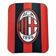 "AC Milan 2014 - 2015 Fleece Blanket 5' 10"" x 4' 1""  Soccer New Red / Black"