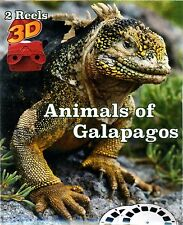 Animals of Galapagos - 2 Reel Set-for Classic Viewers- ViewMaster Viewfinder