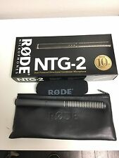 Rode NTG-2 Condenser Cable Shotgun Microphone Excellent Condition! Make Offer!