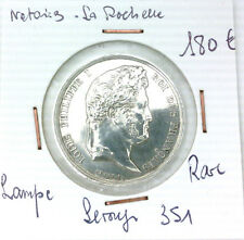 JETON NOTAIRES - LA ROCHELLE - POINÇON LAMPE - RARE - LEROUGE 351