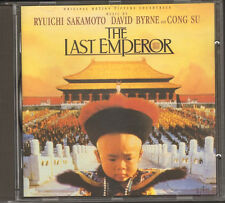 The Last Emperor  CD NEW Ryuichi SAKAMOTO David BYRNE Cong SU 14 page BOOKLET