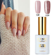 2 PIECES RS 139_239 Gel Nail Polish UV LED Sequined Varnish Soak Off 15ml New