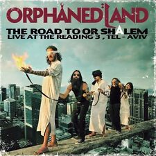 Orphaned Land-The Road to or-shalem (transparente 2 Vinyl LP nuevo