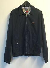 Tommy Hilfiger Mens Designer Black Cotton Jacket Size UK M, VGC