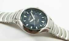 Seiko SXD393 Silver Tone Stainless Steel 7N82-0AT8 Sample Watch NON-WORKING