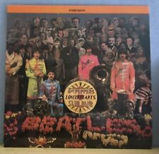 THE BEATLES Sgt. Peppers Lonely Hearts Club Band Foretaste USA RED Vinyl LP EXC