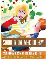 Earn $1000 in one week on Ebay PDF Ebook Free Shipping Resell rights Make money