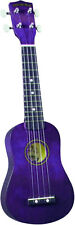 Diamond Head DU-108 Soprano Ukulele - Purple