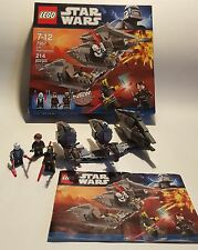 Lego Star Wars #7957 Sith Nightspeeder 214 pcs, ages 7-12, 100% complete