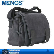 MENGS M2 Canvas Waterproof Shoulder SLR Camera Bag