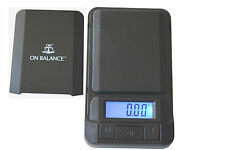 On Balance  Mini Pocket Digital Scale 0.01G 100G  Gold, Jewellery,Herb Scales
