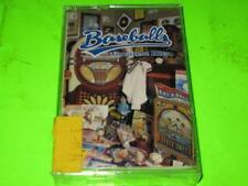 NEW FACTORY SEALED: BASEBALL'S GREATEST HITS VARIOUS ARTISTS ~ CASSETTE TAPE