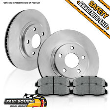 Front Rotors & Metallic Pads 2008 2009 2010 2011 DODGE CALIBER MITSUBISHI LANCER