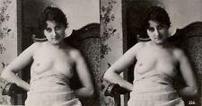 21 wunderschöne künstlerische Akt - Stereofotos um 1900