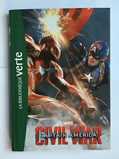 BIBLIOTHEQUE VERTE CIVIL WAR CAPTAIN AMERICA LE FILM 2016 MARVEL