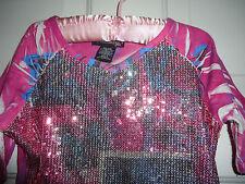 eye shawdow Girls Pink SPARKLE Top Size 6