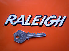 RALEIGH TEXT Shaded Style Shaped Decal STICKERS 125mm Moped Chopper Bicycle etc.