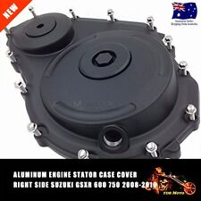 BLK Aluminum Engine Clutch Case Cover Right Side Suzuki GSXR 600 750 08/09/10