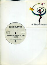 THE BELOVED Rock to the Rhythm of Love EASTWEST UK 12-inch PROMO NM *