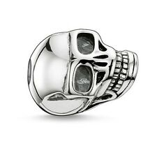 Genuine Thomas Sabo Karma Bead Large Skull Sterling Silver RRP $95
