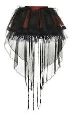New PUNK RAVE Gothic Rock Lolita Lace Mesh Skirt LQ-072 ALL STOCK IN AUSTRALIA!