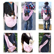 Outdoor Sling Carrier Pouch Travel Bag Tote Handbag Luggage Bag Doggy Cat Pet WT