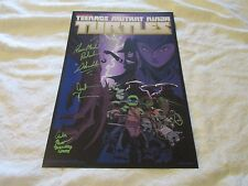 NYCC 2016 Exclusive Teenage Mutant Ninja Turtles TMNT Poster Signed by Cast