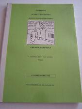 CATALOGUE DE VENTE SUR OFFRES , BANDES DESSINNEES ANCIENNES , BELGIQUE 1998 .